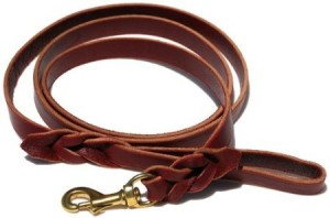 The K9 Braided Leather Leash